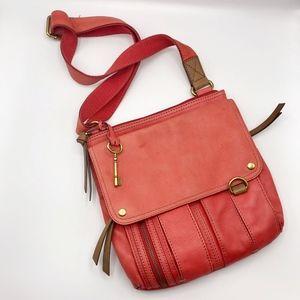 Fossil Morgan Crossbody Bag Leather Messenger